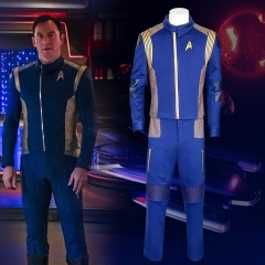 Star Trek Discovery Captain Lorca Cosplay Costume Starfleet Uniform
