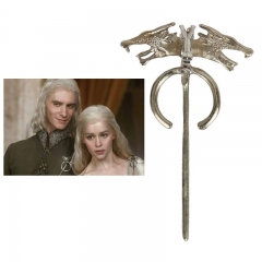 Game of Thrones Daenerys's Dragon Badge Brooch Pin Movie Jewelry Cosplay Costume Accessories Props