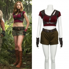 Jumanji: welcome to the Jungle Ruby Roundhouse Cosplay Costume