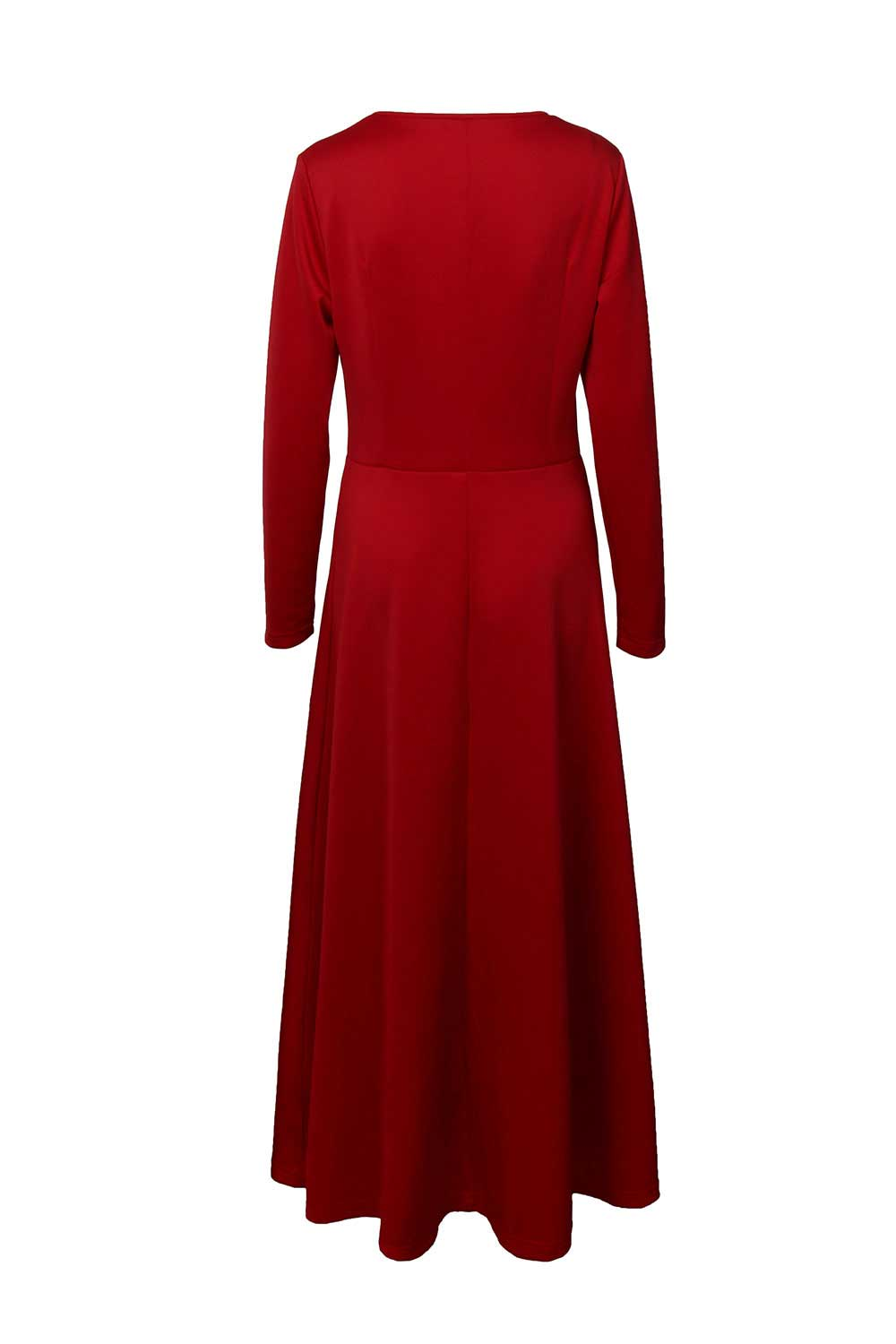 The Handmaid's Tale June Osborne Red Dress For Halloween Party