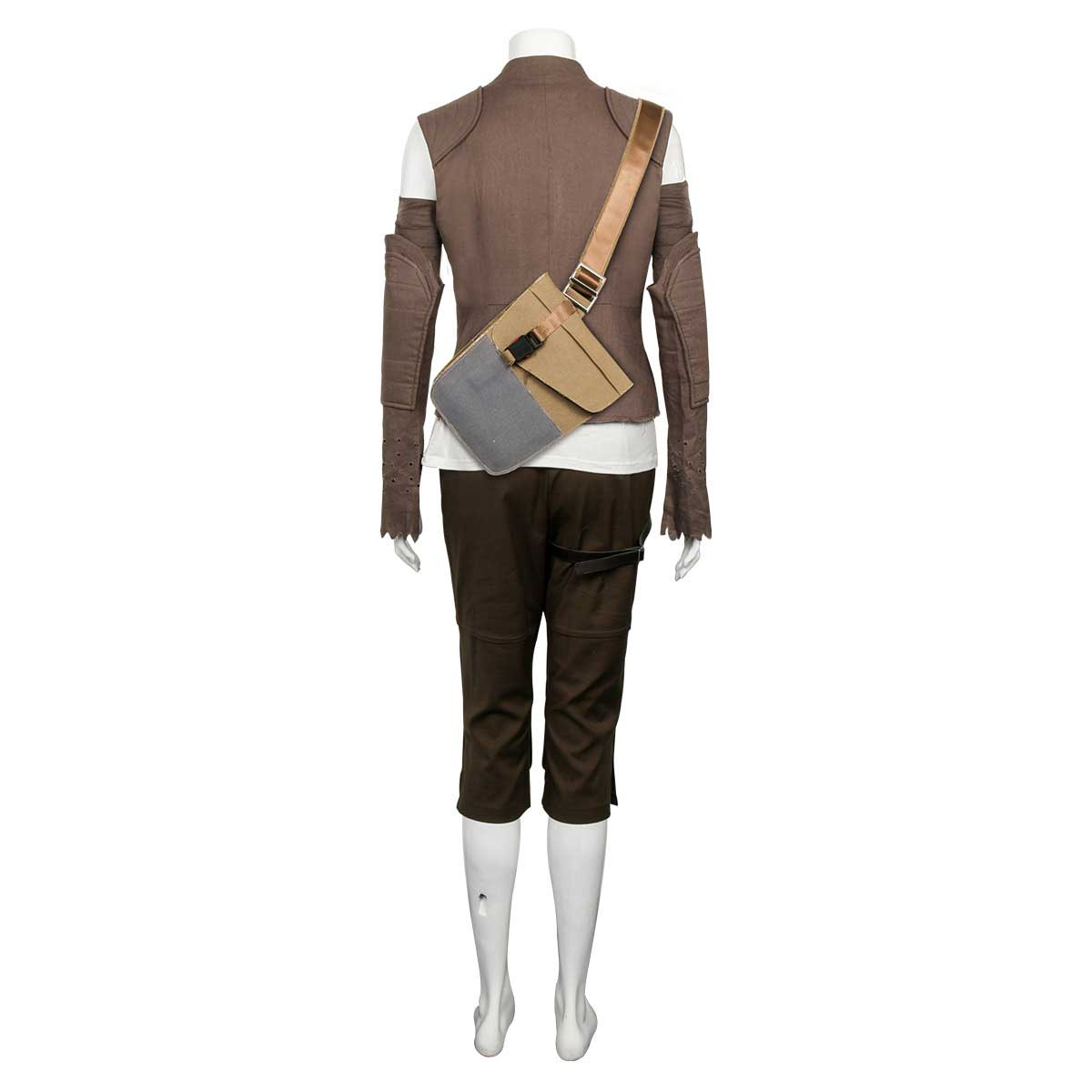 NEW The Last Jedi Luke Skywalker Uniform Outfit Cosplay Costume Custom Made