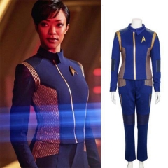Star Trek Discovery Captain Michael Burnham Commander Uniform Cosplay Costume