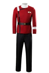 Star Trek II: The Wrath of Khan Starfleet Cosplay  Uniform Costume