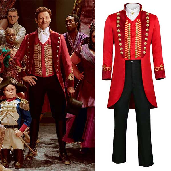 Barnum Cosplay Costume Uniform Suit Outfit The Greatest Showman P.T