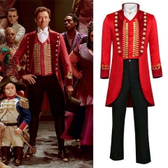 The Greatest Showman Costume P. T. Barnum Full Set Customized Cosplay Outfits