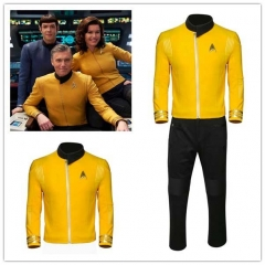 Star Trek II: The Wrath of Khan Captain Christopher Pike Cosplay Uniform