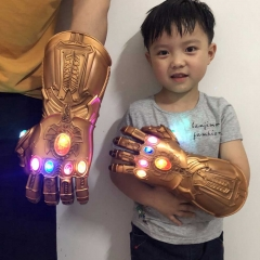 Avengers Infinity War Thanos Led Gauntlet Gloves Adult Kids