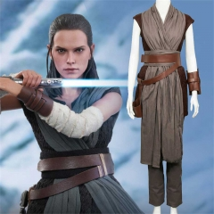 Star Wars Last Jedi Rey Adult deluxe Cosplay Costume