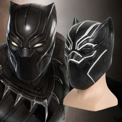 Black Panther T'Challa Halloween Cosplay Mask Avengers 3 Captain America Civil War