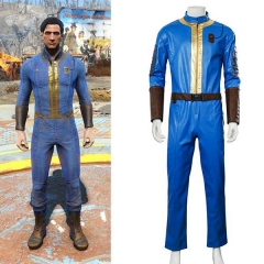 Game Fallout 4 Vault Cosplay Jumpsuit Halloween Costume