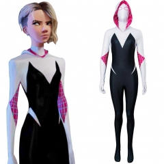SpiderMan: Into the Spider-Verse Spider-Gwen Cosplay Costume