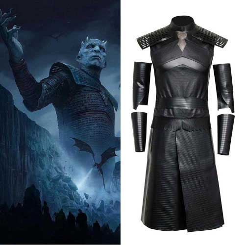 Game of Thrones A Song of Ice and Fire Night's King Cosplay Costumes