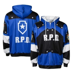 Resident Evil 2 Remake Re Leon Scott Kennedy Hoodie