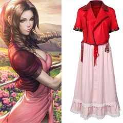 Aerith Gainsborough Cosplay Costume Final Fantasy VII