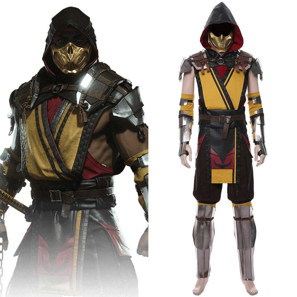 Scorpion Cosplay Costume Mortal Kombat 11