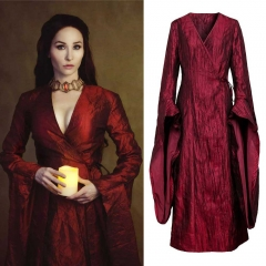 Game of Thrones Melisandre Cosplay Costume Season 8 The Final Season
