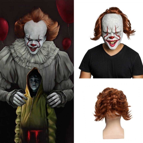 It Chapter 2 Pennywise Full Face Halloween Mask