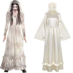 The Curse of La Llorona Women Halloween Cosplay Costume Long Dress