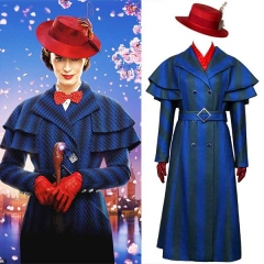 2018 Disney Movie Mary Poppins Returns Halloween Costume