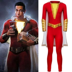 2019 Movie Shazam Billy Batson Outfit