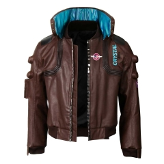 Cyberpunk 2077 Bomber Jacket With Badge