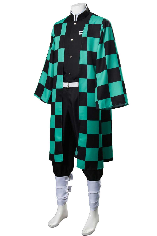 Kamado Tanjirou Outfits Demon Slayer: Kimetsu no Yaiba Cosplay Costume