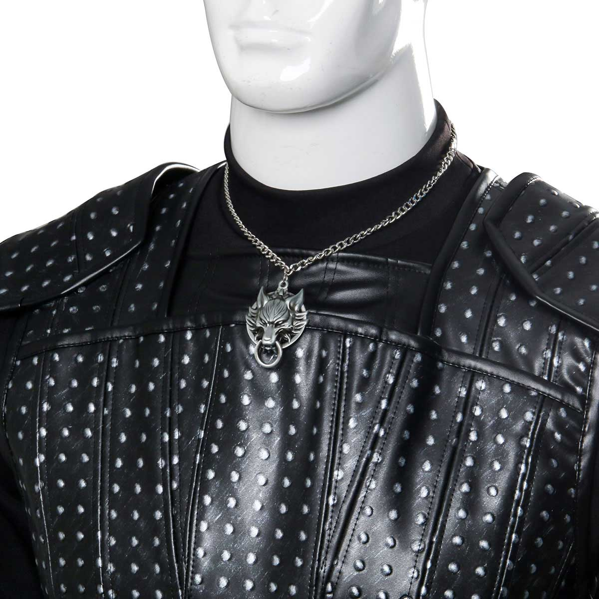 The Witcher 3 Cavill Geralt of Rivia Uniform Cosplay Costume