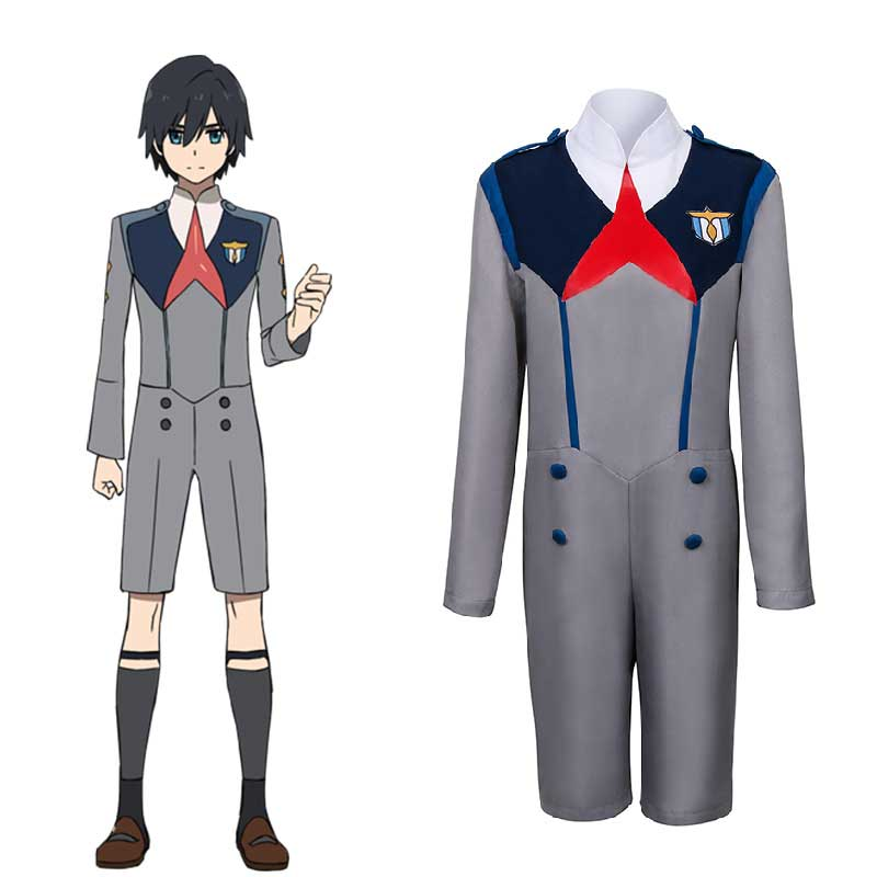 DARLING in the FRANXX HIRO CODE:016 Outfit Uniform Cosplay Costume