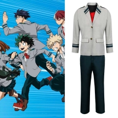 Boku no Hero Academia My Hero Academia Izuku Midoriya Deku School Uniform Cosplay Costume
