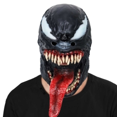 Venom: Deadly Guardian 2018 Latex Face Mask For Halloween