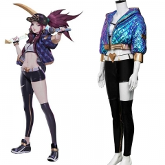 League of Legends LOL KDA Akali Cosplay Costume