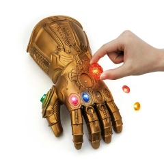 Avengers Infinity War Thanos Led Gauntlet With Stones
