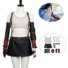 Final Fantasy 7 VII Remake Tifa Lockhart Cosplay Costume