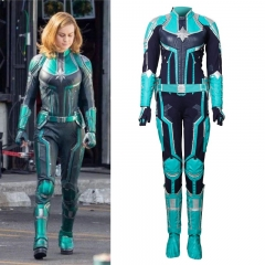 Captain Marvel Costume Carol Danvers Cosplay Outfit For Women Theme Party Uniform Suit