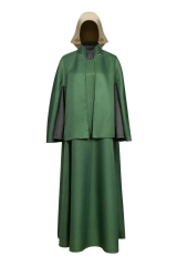 The Handmaid's Tale June Osborne Green Cape Cosplay Costume For Halloween Party
