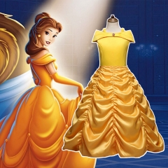Disney Beauty and the Beast Princess Belle Yellow Dress