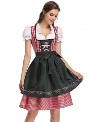 Takerlama Womens German Oktoberfest Beer Maid Fancy Dress Beer Girl Costume