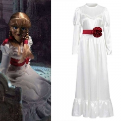 Annabelle Comes Home Cosplay Dress Halloween Horror Costume For Women Adult