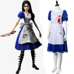 American McGee's Alice: Madness Returns Cosplay Costume Dress