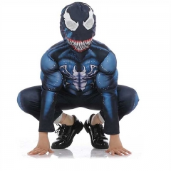 Kids Spiderman Venom Costume Boy Superhero Cosplay