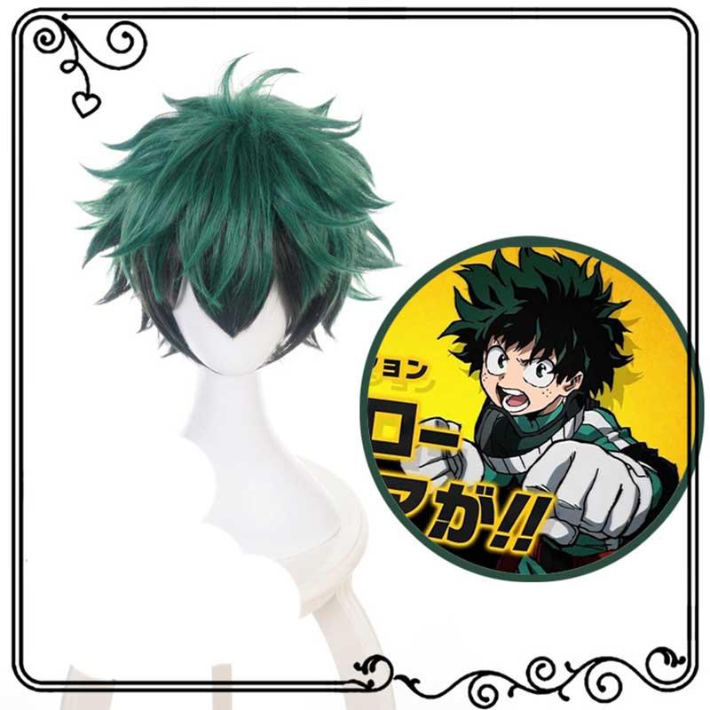 Boku No Hero My Hero Academia Izuku Midoriya Deku Wigs