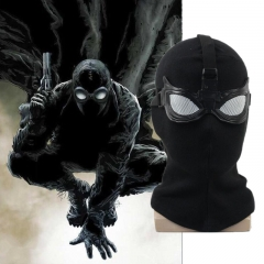 SpiderMan: Far From Home Stealth Suit Black Mask with Goggles Glasses