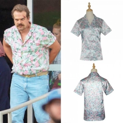Stranger Things Season 3 Hopper T-shirt Cosplay Costume