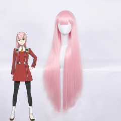 DARLING in the FRANXX ZERO TWO CODE 002 Long Pink Cosplay Wig