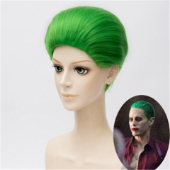 Joker Green Wig Movie Suicide Squad Cosplay Props