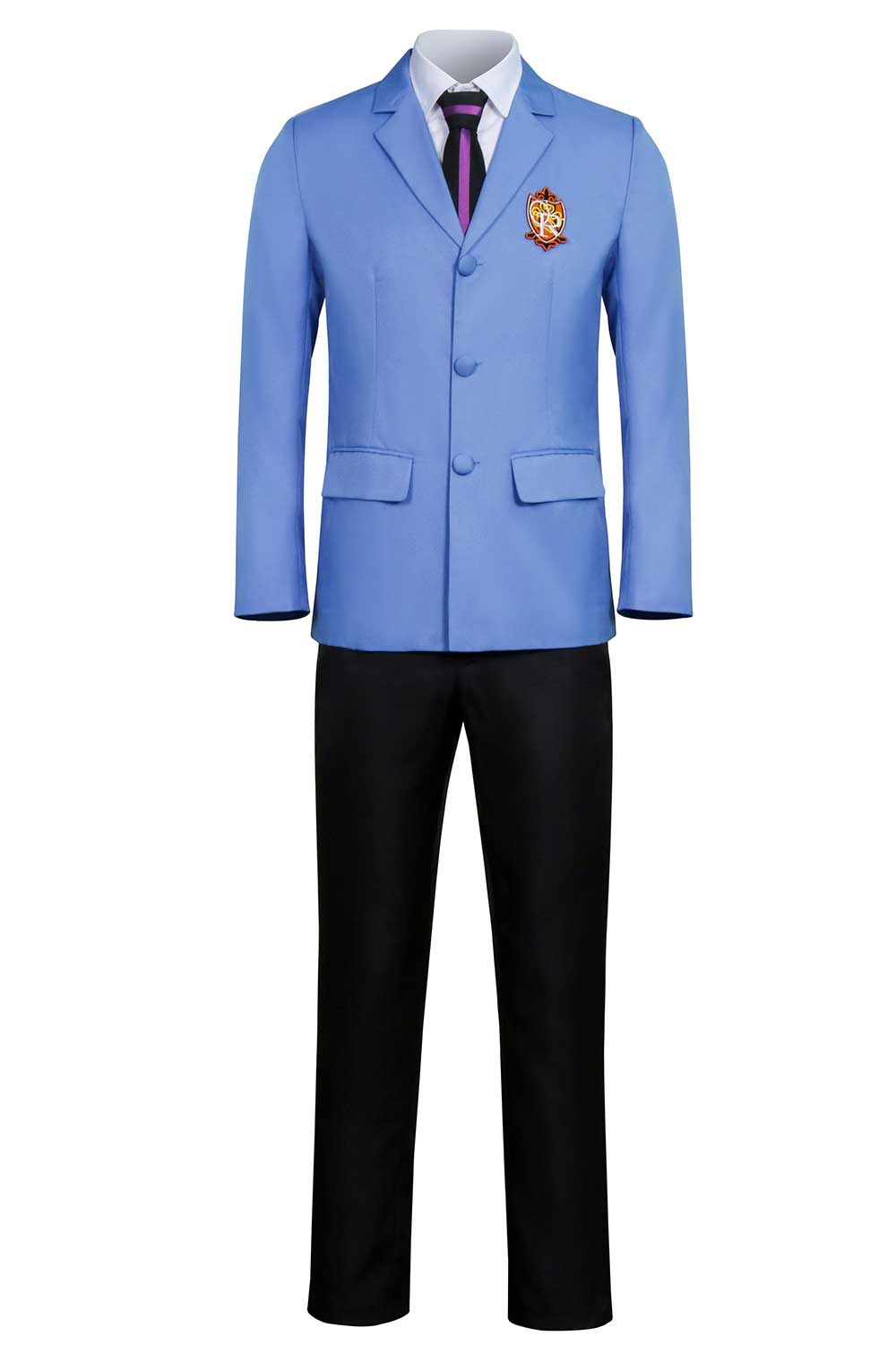 Ouran High School Host Club School Uniform Jacket Tie Pants Cosplay Costume