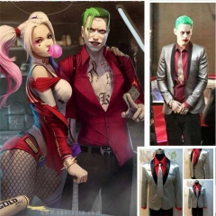Suicide Squad The Joker Costume Cosplay Jacket Suit