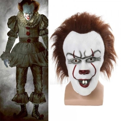 Stephen King's It Chapter 2 Pennywise Clown Joker Mask