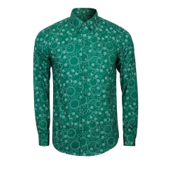 Joker Green Shirt Arthur Fleck Cosplay Costume