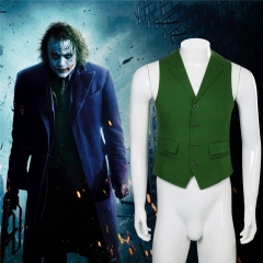 The Dark Knight The Joker Cosplay Green Vest Cosplay Costume In Stock